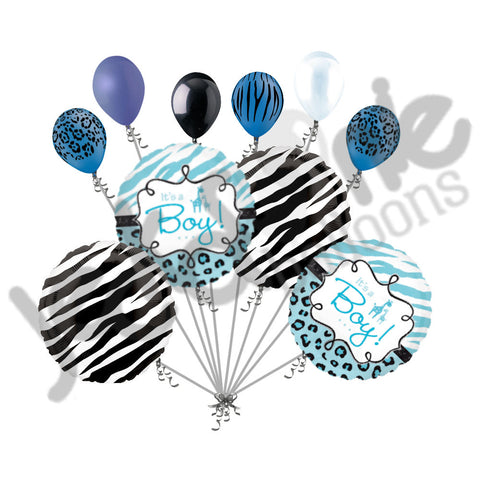 Baby Boy Jungle Sweet Safari Balloon Bouquet