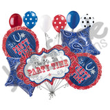 Bandana & Blue Jeans Party Time Balloon Bouquet