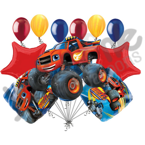 Blaze & the Monster Machines Balloon Bouquet