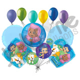 Bubble Guppies Happy Birthday Balloon Bouquet