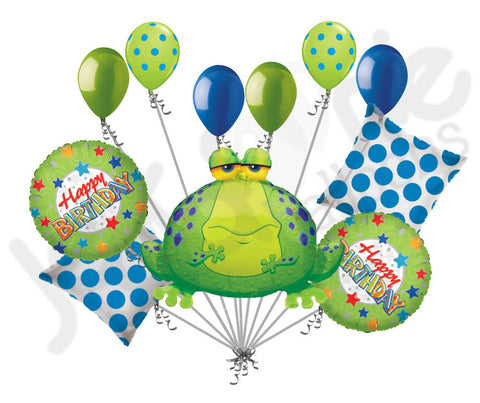Big Bullfrog Happy Birthday Balloon Bouquet