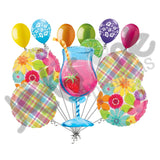 Day in Paradise Summer Luau Balloon Bouquet