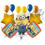 Despicable Me Minions Steve Happy Birthday Balloon Bouquet