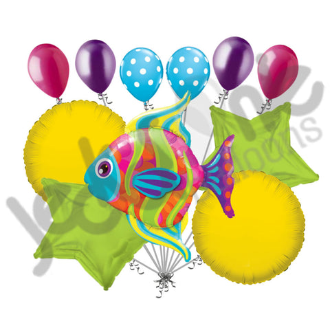 Fashionable Tropical Fish Balloon Bouquet