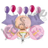 It's a Baby Girl Type Balloon Bouquet