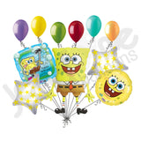 Spongebob Square Pants Balloon Bouquet