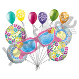 Pink Summer Sunglasses Laua Balloon Bouquet
