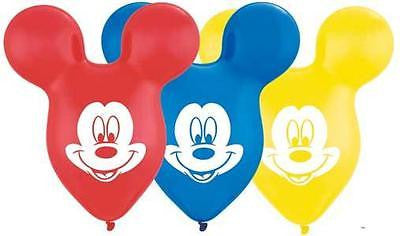 Disney Mickey Mouse Ears Latex Balloon Party Decoration Happy Birthday