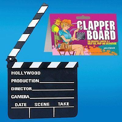 Hollywood Director Clapper Board Novelty Gift