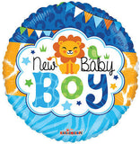 New Baby Boy Lion Balloon Bouquet