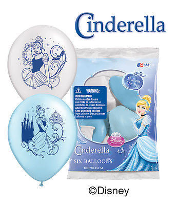 Disney Princess Cinderella Latex Balloons