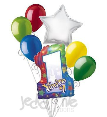 You're #1 Stars Balloon Bouquet