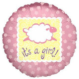 Baa Baa Lamb Baby Girl Balloon Bouquet