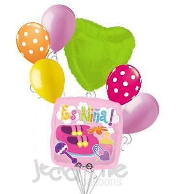 Pink Es Niña Shoes & Toys Balloon Bouquet