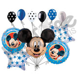 Disney Mickey Mouse Head Balloon Bouquet