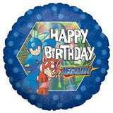 Megaman Happy Birthday Balloon Bouquet