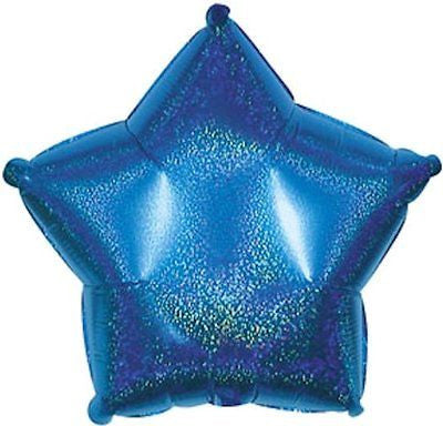 Dazzeloon Blue Star Decorator Balloon