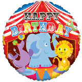 Circus Elephant Happy Birthday Balloon Bouquet