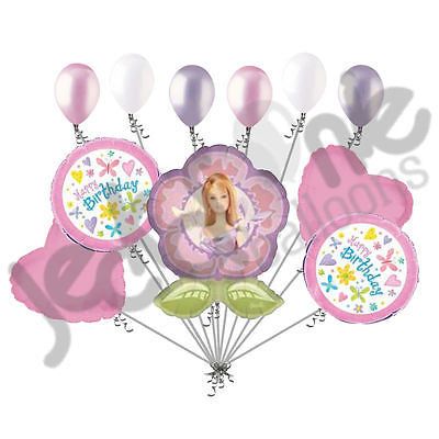 Barbie Flower Balloon Bouquet