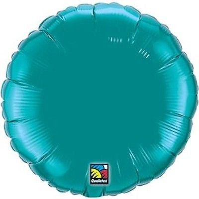 Teal Round Decorator Balloon