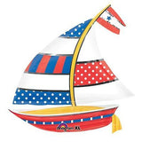 Nautical Sailboat Summer Fun Balloon Bouquet