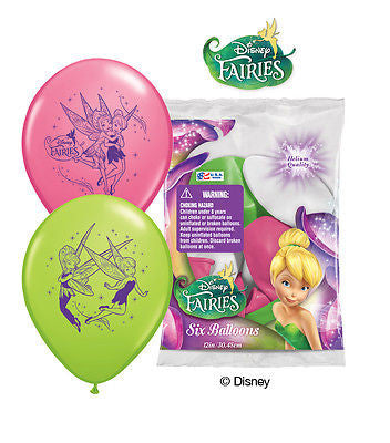 Disney Faries Tinkerbell Latex Balloons