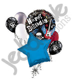 Rock Party Happy Birthday Balloon Bouquet