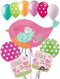 Tweet Bird Baby Girl Balloon Bouquet