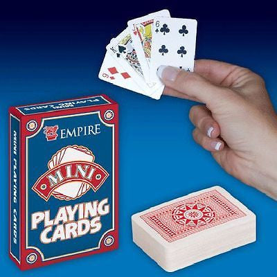 Empire Mini Playing Cards Novelty Gag Gift