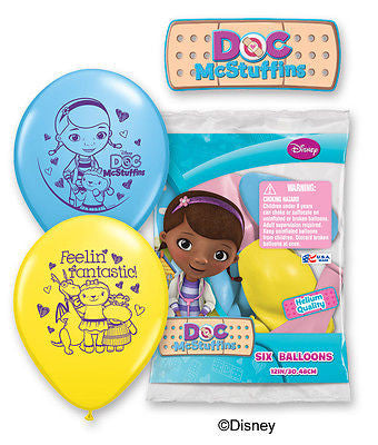 Disney Doc McStuffins Latex Balloons