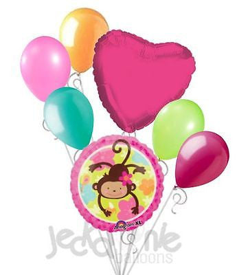 Monkey Love Luau Balloon Bouquet