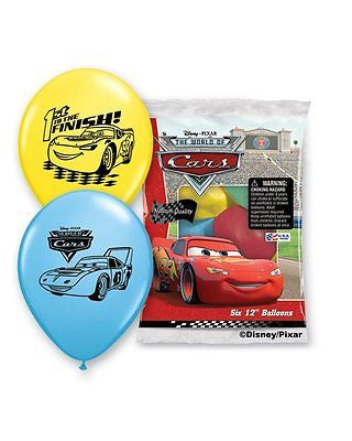 Disney Cars Lightening McQueen Latex Balloons