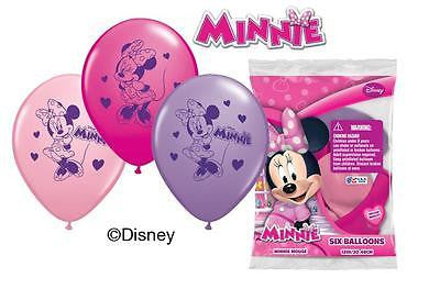 Disney Minnie Mouse Bow-tique Latex Balloons
