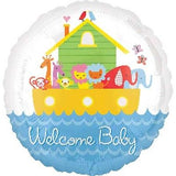 Noah's Animal Ark Welcome Baby Balloon Bouquet