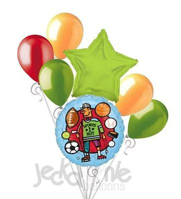 Sports Nut Dad Happy Father's Day Balloon Bouquet