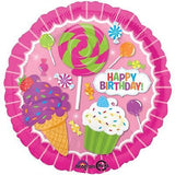Sweet Shoppe Candy Happy Birthday Balloon Bouquet
