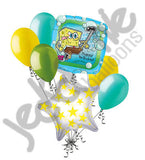 Spongebob Squarepants Happy Birthday Balloon Bouquet