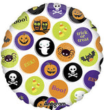 Happy Halloween Icons Balloon Bouquet