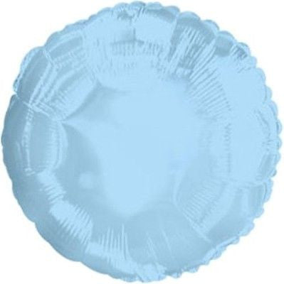 Light Blue Round Decorator Balloon