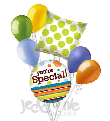You're Special Dots & Stripes Balloon Bouquet