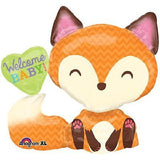 Welcome Baby Woodland Critters Balloon Bouquet