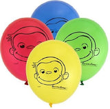 Curious George Latex Balloons