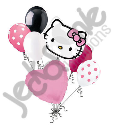 Hello Kitty Head Balloon Bouquet