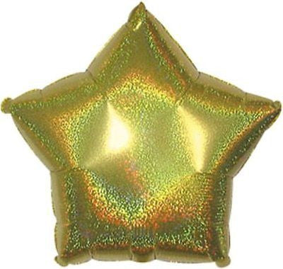 Dazzeloon Gold Star Dazzeloon Balloon