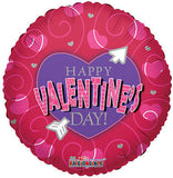 Heart & Arrow Happy Valentines Day Balloon Bouquet