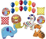 Colorful Circus Animals Happy Birthday Balloon Bouquet