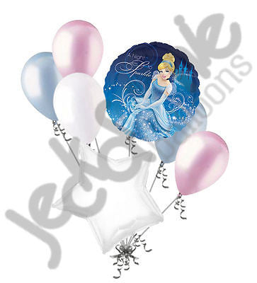 Disney Princess Cinderella Sparkle Balloon Bouquet
