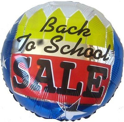 Back to School SALE Promotional Balloon