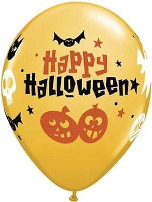 Qualatex Halloween Fun Latex Balloons