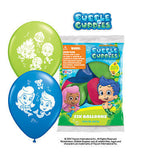 Bubble Guppies Latex Balloons